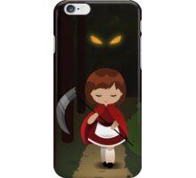 Dark Red iPhone Case/Skin