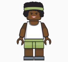 Lego Basketball Girl by miners