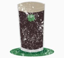 VINTAGE Pint of Guiness by holidayswaggs