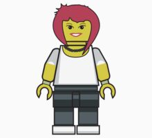 Lego Emo Girl by miners
