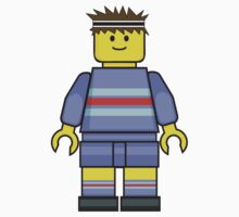 Lego Rugby Boy by miners
