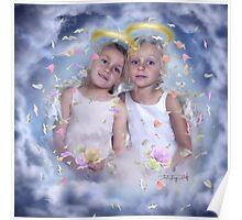 flower angels Poster