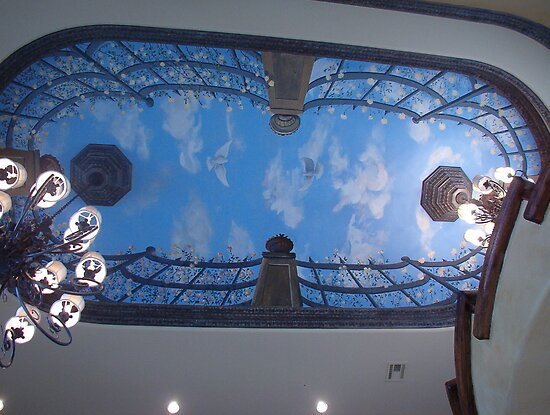 Mural ceiling by mmdstudios redbubble for Mural work using m seal