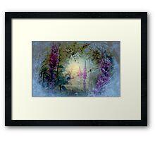 The Celestial  Winter to  Eternal  Spring      Framed Print