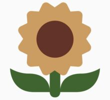 Sunflower Twitter Emoji Kids Clothes