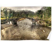Cromwell's Bridge, Lancashire Poster