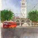 Ferry Building by JGFineArt