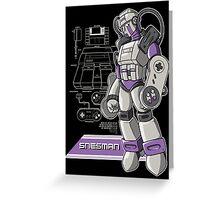 SNES Man Greeting Card