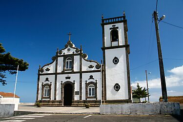 Church in Azores islands by Gaspar Avila