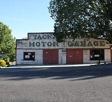Old Garage - Yackandandah  by brendanscully