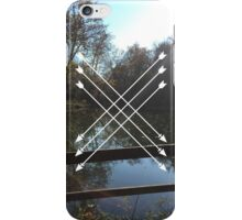 LAKES AND HIPSTER ARROWS iPhone Case/Skin