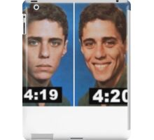 4:19 and 4:20 iPad Case/Skin