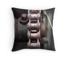Chain chain chain Throw Pillow