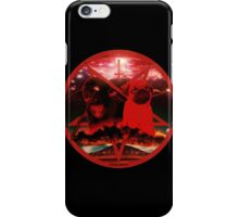 red pugtagram iPhone Case/Skin