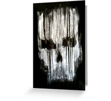 Abstract  Death  Greeting Card