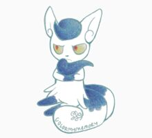 Blue Meow girl by ColorMyMemory