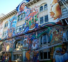 Mural in the Mission District by Harry Snowden