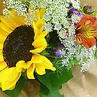 Country Bouquet by Elaine Bawden