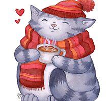 Cozy Cat by Calista Douglas