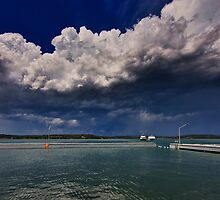 Storm Clouds Over Toronto by Mark Snelson