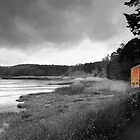 Ferrymans Cottage - Slebech Pembrokeshire Wales  by Mark Guest