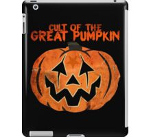 Cult of the Great Pumpkin: Mask iPad Case/Skin