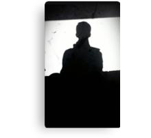 Self Shadow Canvas Print