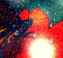 'Enlightened Monarch' by kDesignationz Sticker