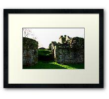 Pendragon Castle #3 Framed Print