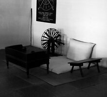 "Gandhiji's Room by "" RiSH """