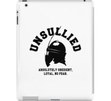 UNSULLIED iPad Case/Skin
