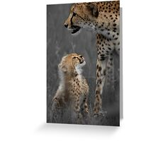Here's looking at you mom Greeting Card