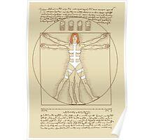 Vitruvian Leeloo Poster
