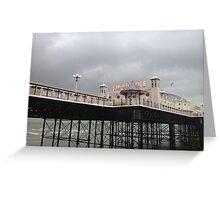 Brighton pier Greeting Card