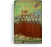 You Create Your Own Happiness Canvas Print