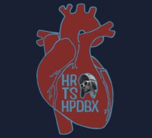 HRTSHPDBX - Nirvana (Heart-Shaped Box) RED Kids Clothes
