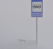 Where the bus stops have no names... by Kasia Nowak