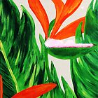 Bird of Paradise I by WhiteDove Studio kj gordon