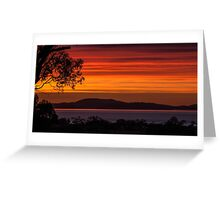 Sunrise From The Front Door- Frederick Henry Bay Greeting Card