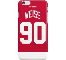 Detroit Red Wings Stephen Weiss Jersey Back Phone Case iPhone Case/Skin