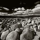 Arran Pebbles by Richard Ion