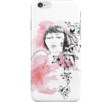 Girl with attitude iPhone Case/Skin