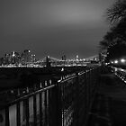 Nght At The Promenade by Brian Walter