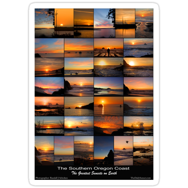 Greatest Sunsets on Earth by Randall Scholten