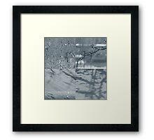 Glitterstorm Framed Print