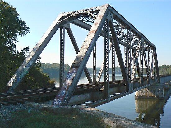 Old Whitney Bridge - 2008 by Sheila Simpson