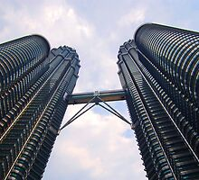 Petronas Towers by Michael Little