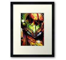 Samus-Skatch Framed Print