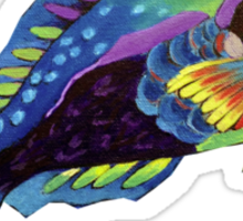 Parrot fish Sticker