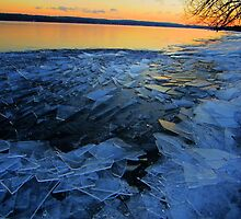 Sunrise on Ice by Sarah Niebank
